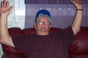 gramps in his famous pose